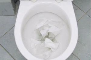 Toiletpot verstopt Breda